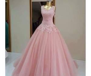 dress, elegant, and long dress image