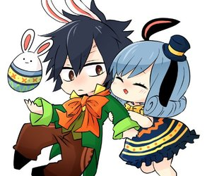 anime, easters, and gray fullbuster image