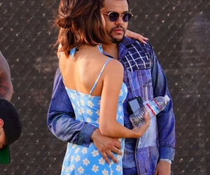 selena gomez, the weeknd, and coachella image