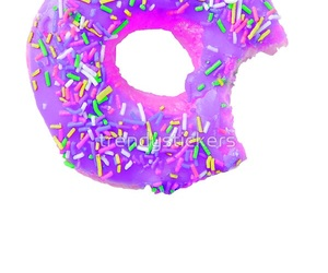 donut and purple image