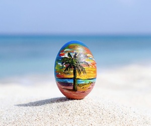 beach, easter, and happy image