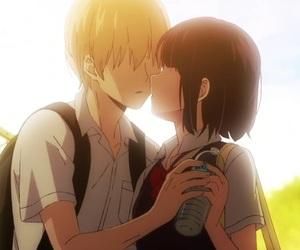 kuzu no honkai, anime, and kiss image