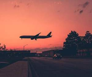 travel, airplane, and photography image