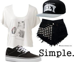 vans, outfit, and swag image