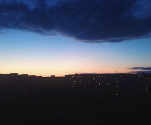 beautiful, evening, and blue image