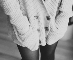 black and white, sweater, and tumblr image