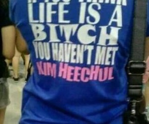 bitch, blue, and funny image
