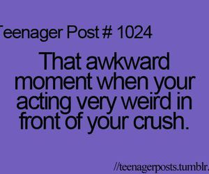 crush, quote, and teenager post image