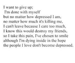 depressed, sad, and love image