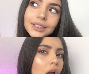 makeup, pretty, and youtube image