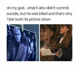 13 reasons why, alex, and hannah baker image