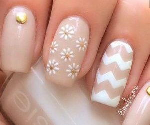 chic, nails, and girly image