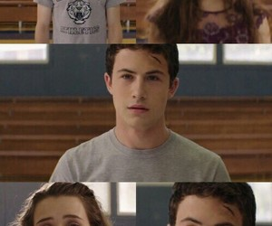 hannah baker, clay jensen, and 13 reasons why image