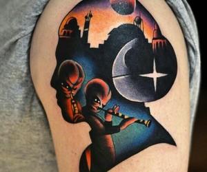 star wars, tattoo, and star wars tattoo image
