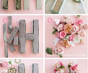 diy, flowers, and h image