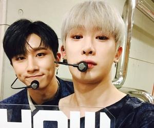 wonho, monsta x, and i.m image
