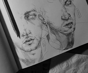 amazing, boys, and drawing image
