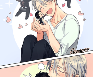 boy, anime, and victor nikiforov image