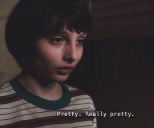 stranger things, eleven, and pretty image