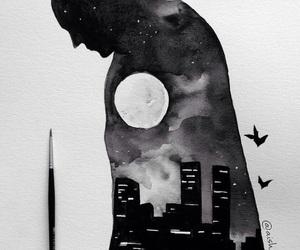 art, batman, and draw image