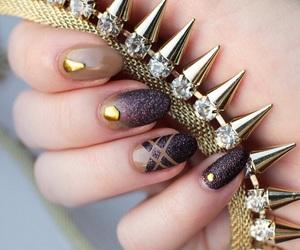 fashion, nail design, and nails image