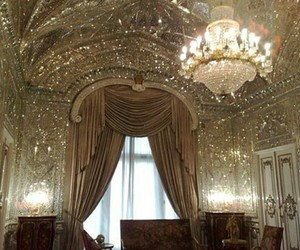 luxury, gold, and diamond image