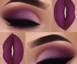 beauty, cool, and makeup image
