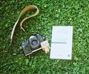 analogue, retro, and book image