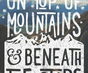 quote, mountains, and travel image