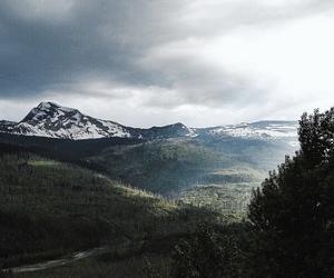 mountain, nature, and peace image