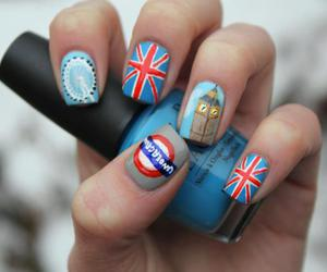 london, england, and nails image