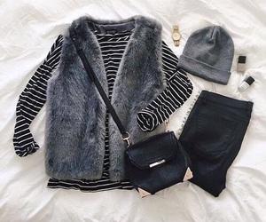 boots, fashion, and jacket image