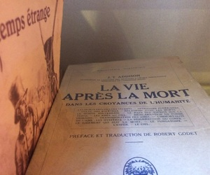 books, mort, and france image
