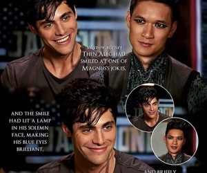 shadowhunters, harry shum jr, and alec lightwood image