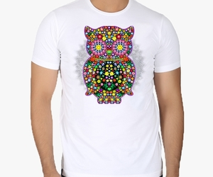 fashion, shopping with bluedarkart, and owl lovers tshirts image