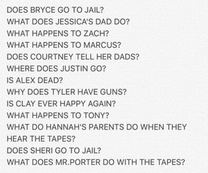 13 reasons why, 13 questions why?, and 13 questions why image