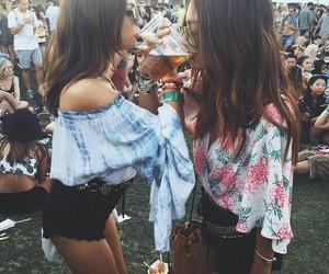 coachella, fest, and hippie image