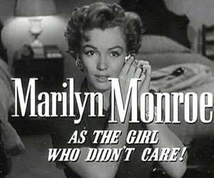Marilyn Monroe, gif, and black and white image