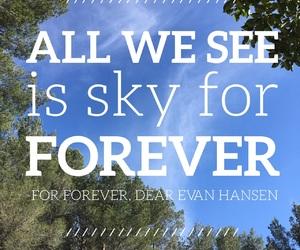 for forever and dear evan hansen image