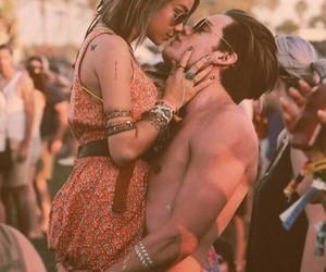 california, girl, and kisses image