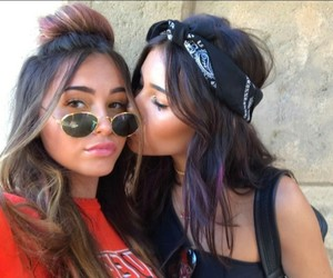 madison beer, claudia tihan, and friendship image