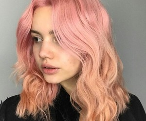 alternative, hair, and pastel image