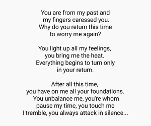 feelings, I Love You, and quotes image