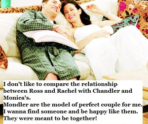chandler, mondler, and friends image