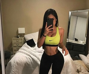 body, fitness, and nike image