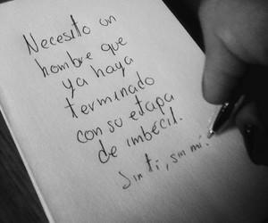 amor, desamor, and hombre image