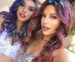 coachella, lele pons, and hair image