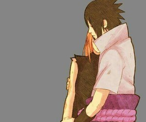 naruto, sasusaku, and anime image