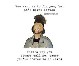 art work, quote quotes, and the weeknd image