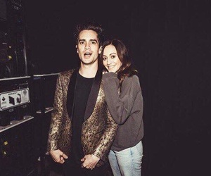 brendon urie, sarah urie, and panic! at the disco image